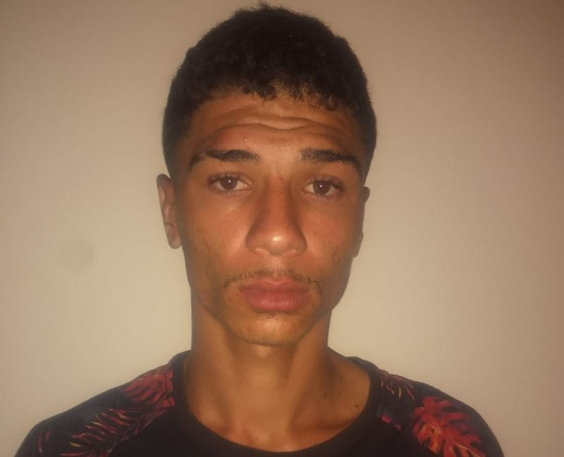 Homem foi identificado como Darlan Santos Ribeiro. (Divulgação: Polícia Militar)