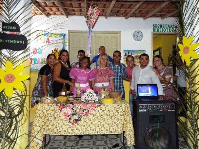 Equipe da escola trabalhou unida e com muita alegria. (Foto: Adson Oliveira/Rastro101)