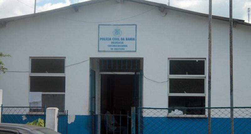 Delegacia de Ubaitaba, onde trabalha o investigador. (Imagem: Reprodução)