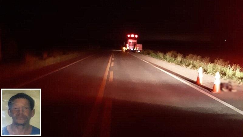 Acidente aconteceu na BR-101 nas proximidades da cidade de Eunápolis. (Imagem do site Radar64)