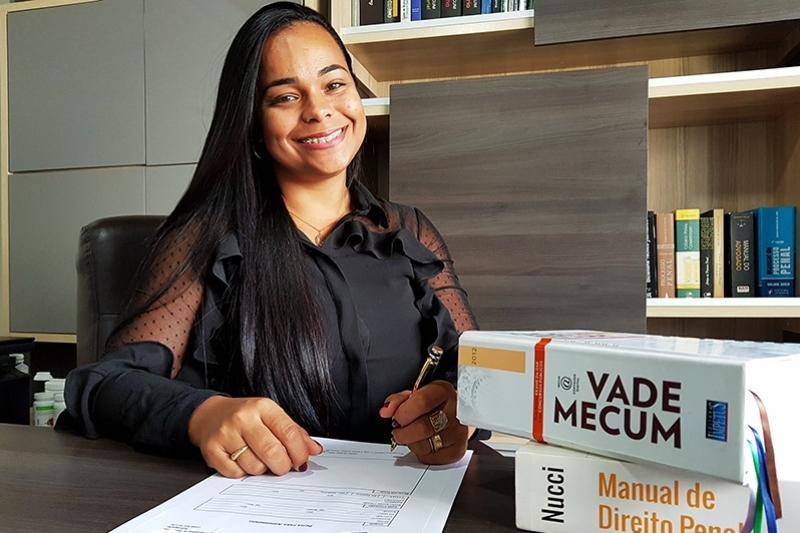 """""""Com amor, dedicação e conhecimento técnico é possível trilhar um caminho de sucesso"""" destacou Janaina Panhossi. (Foto: Alex Gonçalves/BAHIA DIA A DIA)"""