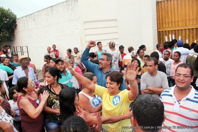 Devanir Brillantino foi eleita com 61,38% dos votos válidos. (Foto: Rastro101)