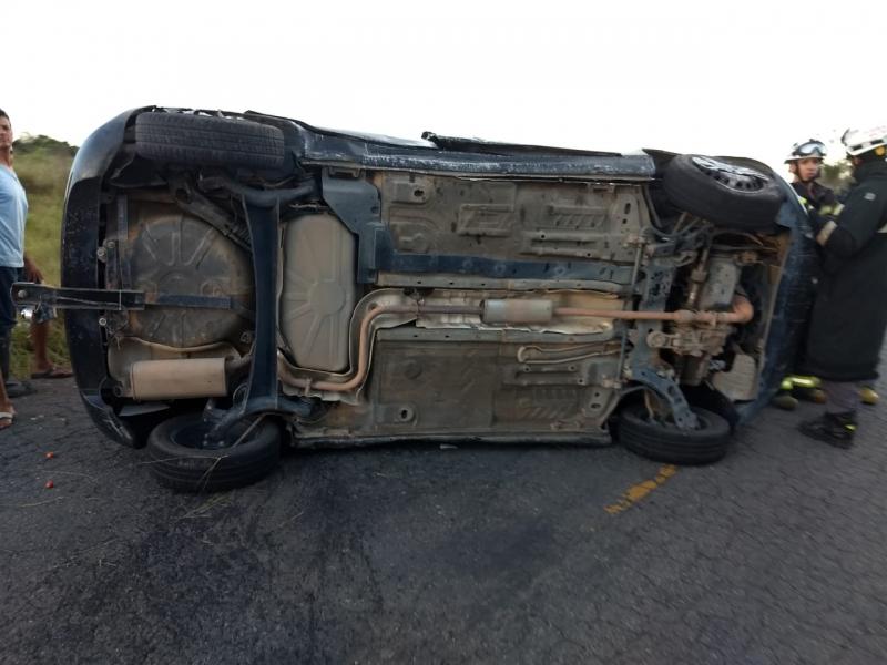Comerciante morreu no local do acidente. (Reprodução)