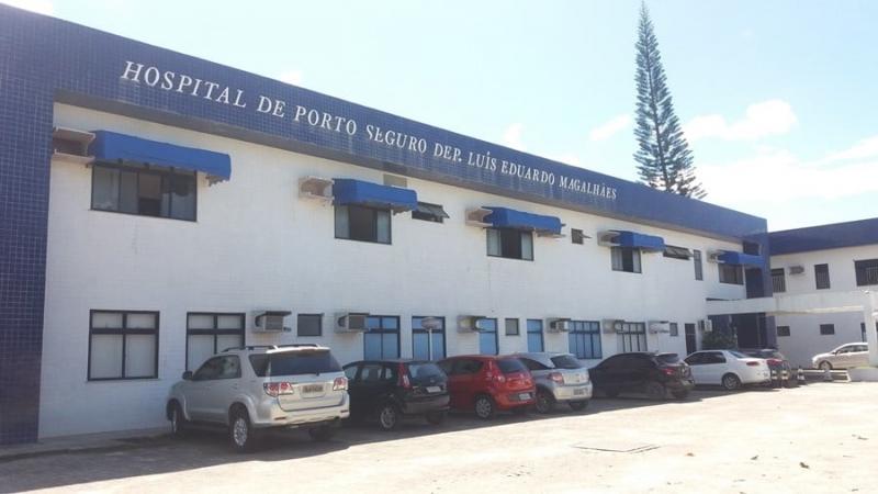 Hospital Luís Eduardo Magalhães, em Porto Seguro (Reprodução)