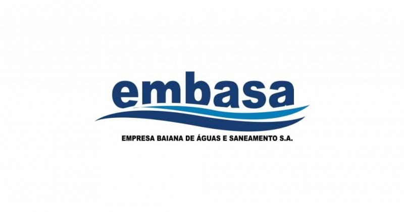Comunicado da Embasa informa sobre suspensão do abastecimento de água em Itagimirim. (Reprodução)