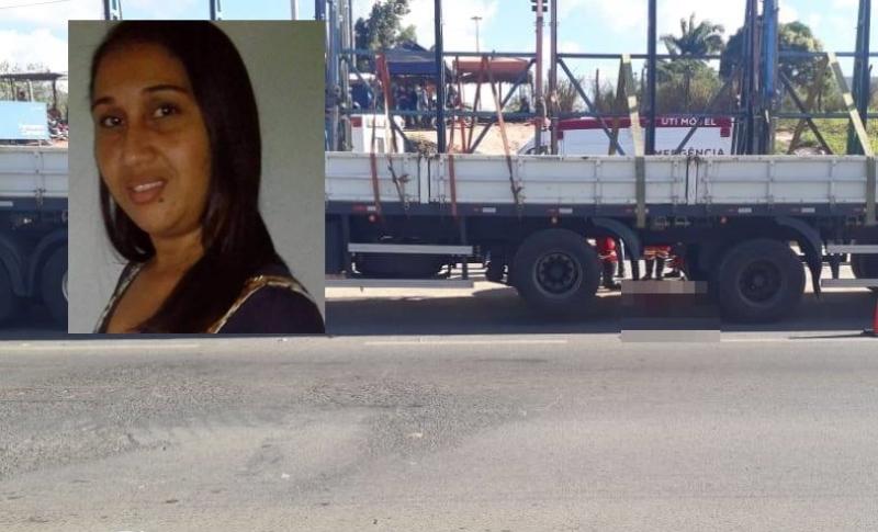 Acidente aconteceu na cidade de Simões Filho. Reprodução: Simões Filho Online)