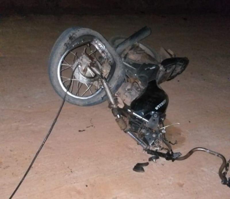 Acidente deixa motociclista morto. (Radar64)