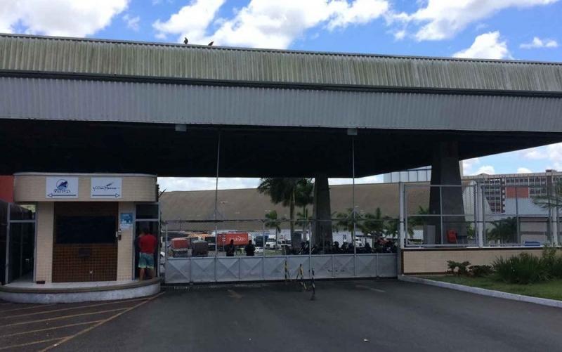 Acidente ocorreu na  empresa GMA em Salvador. (Foto: Ramon Ferraz/ TV Bahia)