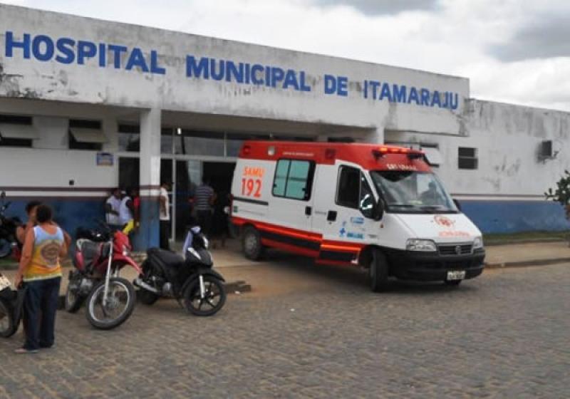 Vítima morreu no Hospital Municipal de Itagimirim. (Reprodução)