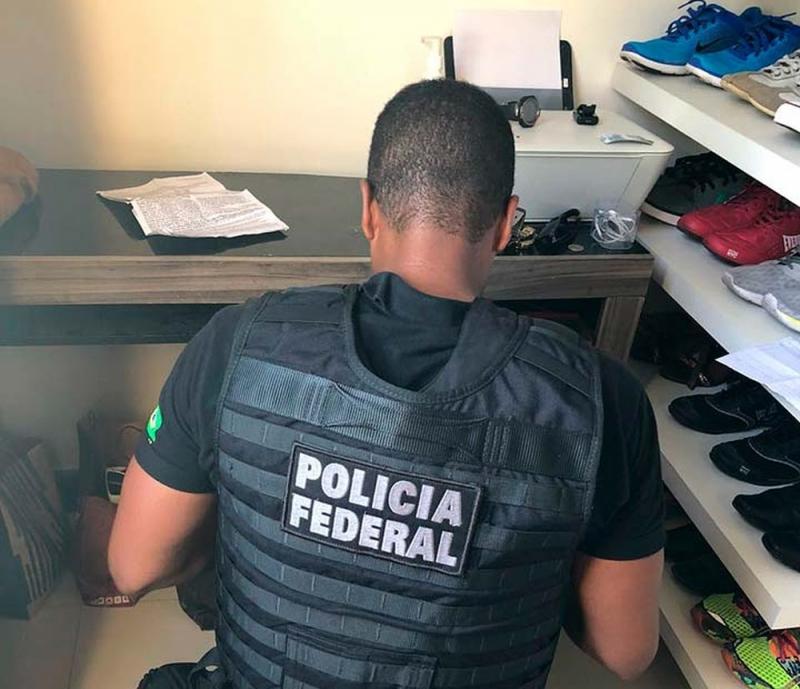 PF realizou buscas em Salvador para o esclarecimento do fato. (Foto: Divulgação/Polícia Federal)