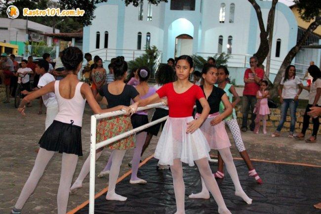 Ensaio de Balé com o grupo Na Pontinha dos Pés (Foto: Rastro101)