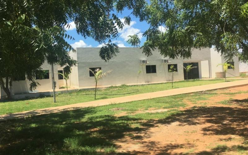 Escola Municipal Serafim Neri do Prado, Em Brejolândia (Foto: Secretária Municipal de Saúde)