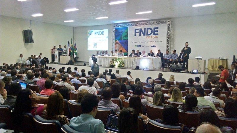 Evento FNDE em Ação foi realizado durante os dias 27 e 28 de abril no município de Vitória da Conquista (BA). (ASCOM)