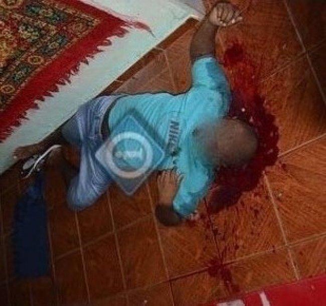 Homem que foi executado, identificado como Fabiano.(Foto: Imprensa na net)