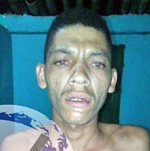 Suspeito fugiu após troca de tiros com a PM. (Foto: Guarananet)