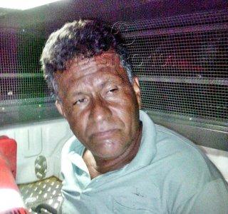Suspeito foi preso pouco tempo depois do crime. (Foto: Rastro101)