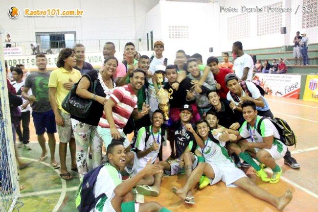 Duas equipes de Itagimirim chegaram às finais da Liga Regional de Futsal. (Foto: Daniel Franco/Rastro101)