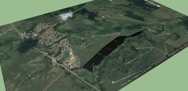 Os 904 lotes de terra têm 200 metros quadrados em média e a doação é fruto da parceria entre a Prefeitura Municipal de Itagimirim e a Veracel Celulose. (Divulgação)