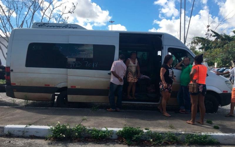 Veículo seguia do Mato Grosso para Alagoas. (Reprodução: Tv Subaé)