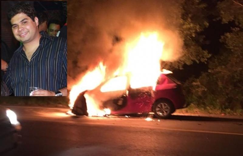 Acidente trágico vitimou o empresário e servidor público Paschoal Laviola. (Imagem: Reprodução/Radar64)