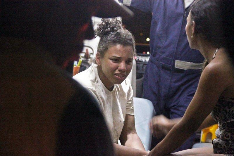 Franciele Souza reis, 18 anos, apresenta problemas mentais e precisa ter acompanhamento psicológico (Rastro101)