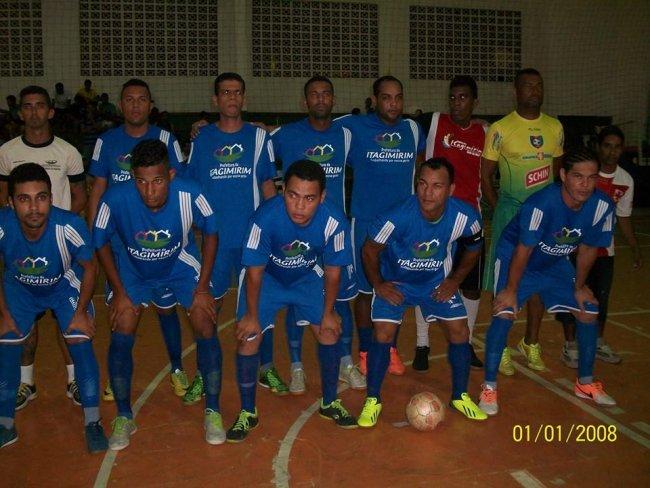 Seleção de Futsal de Itagimirim. (Foto: ASCOM)