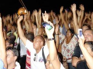Assembleia aprovou o início da greve da PM na BA<br /> (Foto: Imagens/G1)<br />