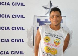 Marcos Paulo Santos, condenado por roubo qualificado e penalizado a 7 anos de reclusão (Foto: Radar 64)