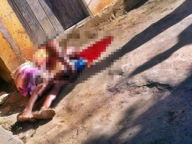 Homem foi morto com vários tiros em Itapebi. (Internauta/Rastro101)