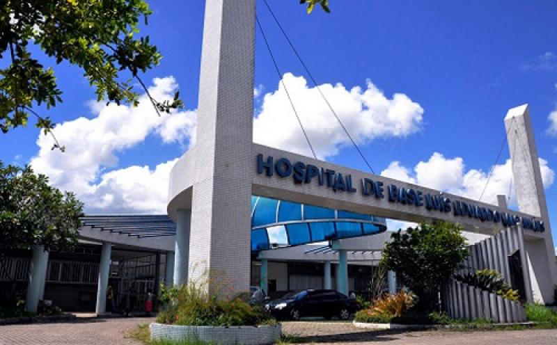 Homem está internado no Hospital de Base em Itabuna. (Imagem: Reprodução)