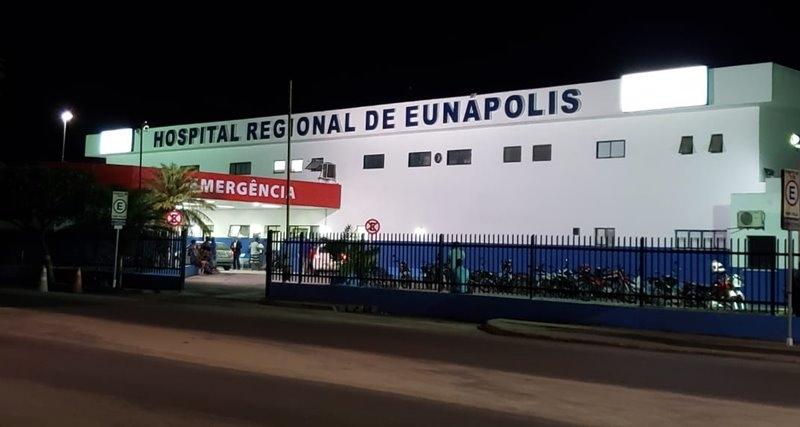 Vítima chegou a ser levada para o Hospital Regional, mas acabou não resistindo. (Imagem: Reprodução)