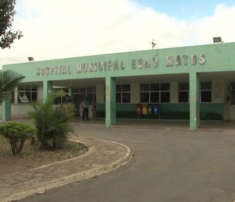 Hospital onde mãe e filha estão internadas. (Reprodução)