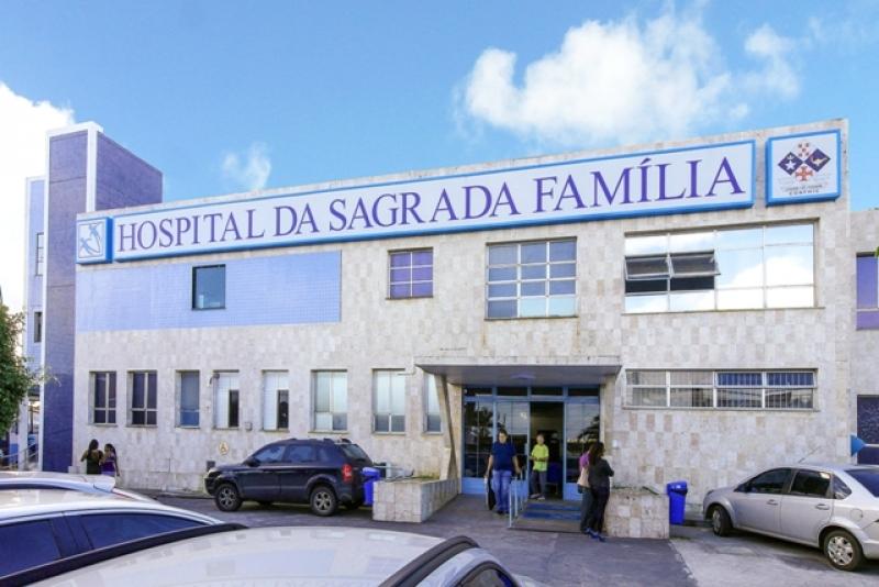 Criança foi resgatada e levada para o Hospital Sagrada Família, onde foi atendida. (Reprodução: Internet)