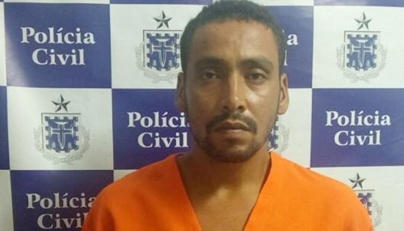 O acusado, Jhonleno Santos de Brito. (Divulgação: Polícia Civil)