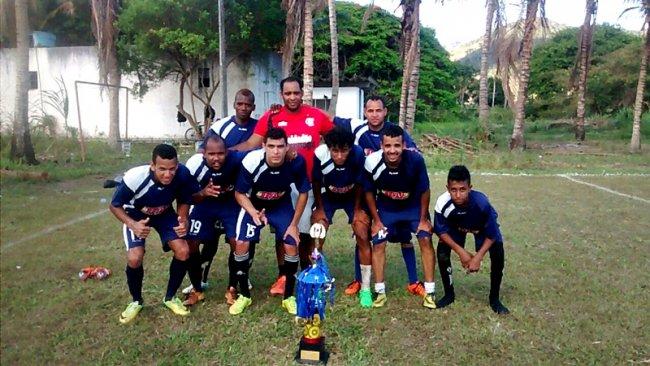Os Galáticos venceram o torneio Beto Fuscão. (Foto: Divulgação)