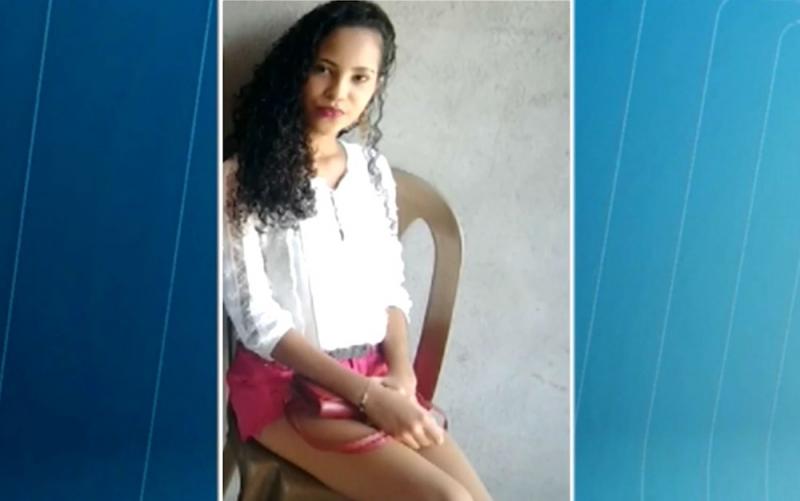 Bruna estava hospedada na casa de parentes em Feira de Santana. (Reprodução/Tv Subaé)