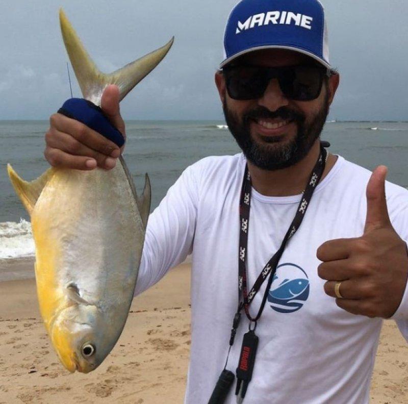 O jovem empreendedor e organizador do evento, Carlos Eduardo (Kadu), é um dos apaixonados pela pesca esportiva