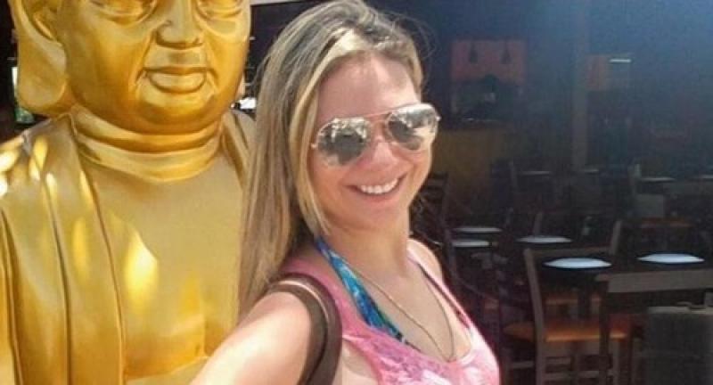 Larissa Nogueira não resistiu a grave acidente. (Reprodução)