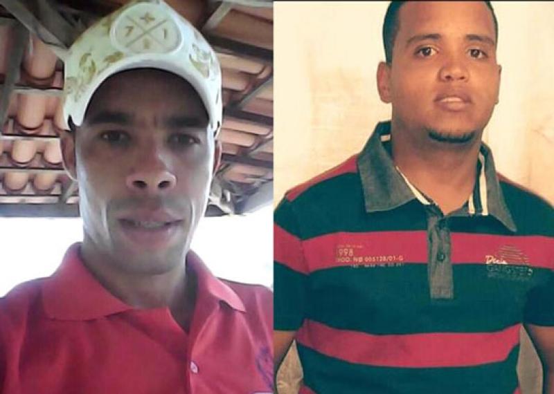 Leomar e Murilo morreram na explosão da mina. (Reprodução: Redes Sociais)