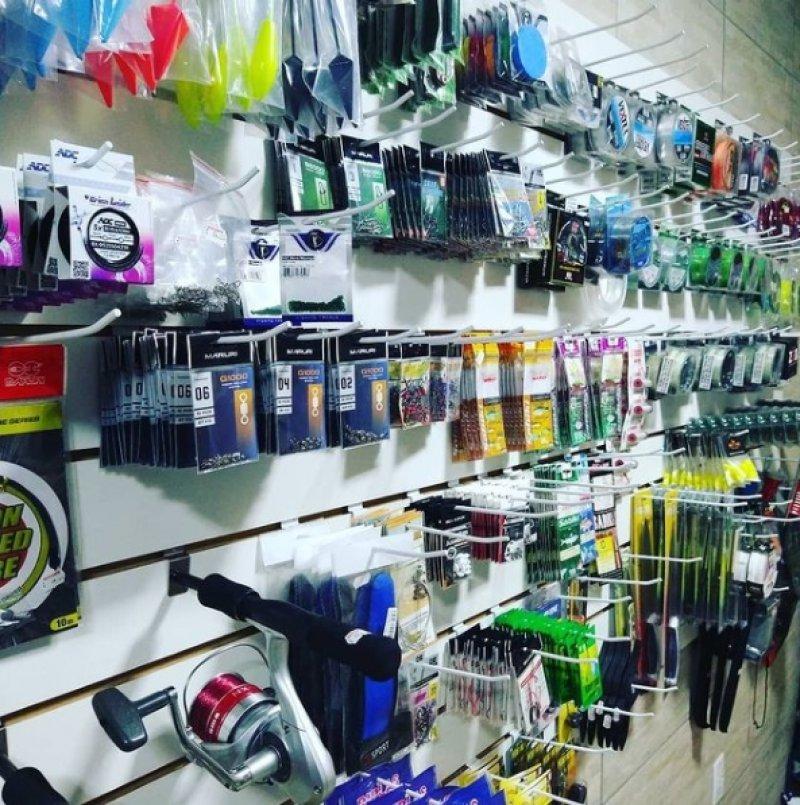 Loja está localizada em Porto Seguro e conta com uma grande variedade de equipamentos para pescas