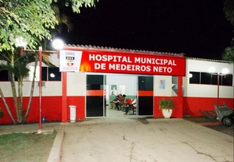 Vítima foi encaminhada ao Hospital Municipal da cidade. (Imagem: Reprodução)