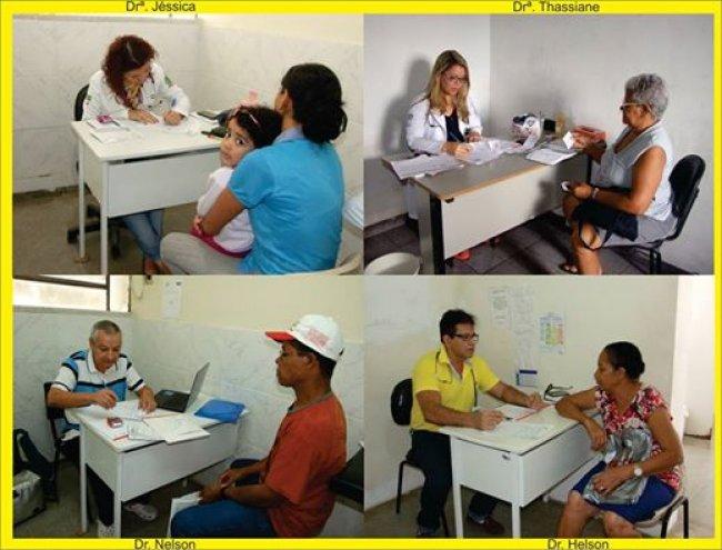 Equipe de médicos em Itagimirim (Foto: ASCOM)