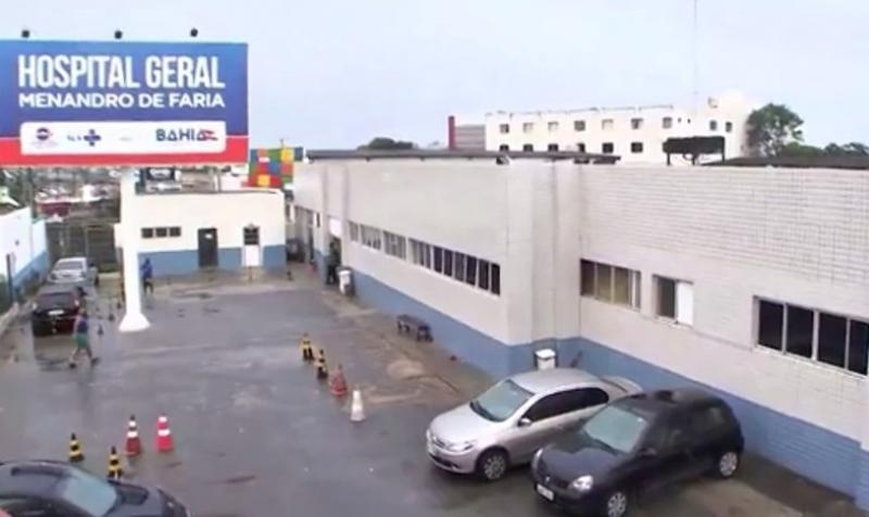 Criança foi encaminhada ao hospital, mas não resistiu. (Foto: Reprodução/ TV Bahia)
