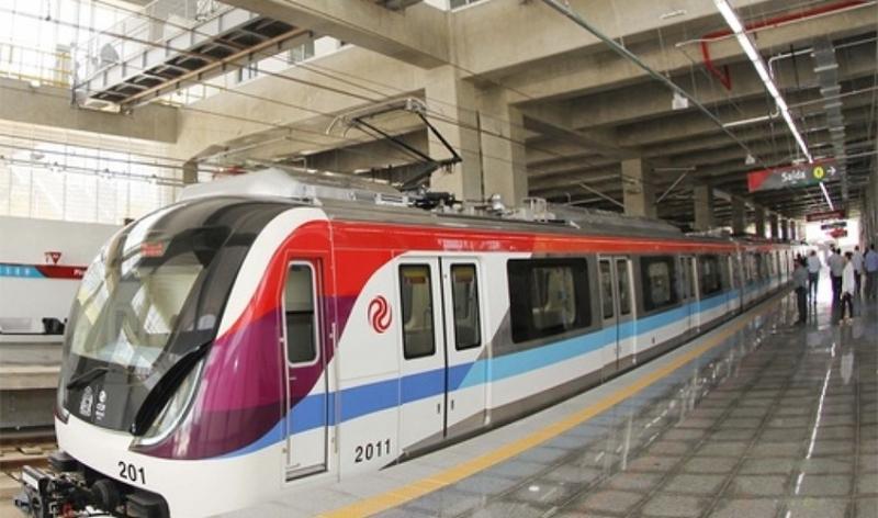 Metrô de Salvador. (Divulgação)