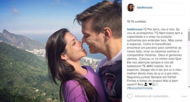 (Foto: @Tatafersoza /Instagram /reprodução)