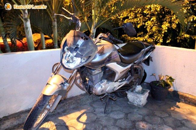 Moto foi roubada de um pastor evangélico em Eunápolis. (Foto: Rastro101)