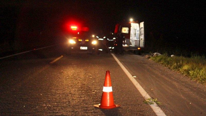 Acidente ocorre a cerca de 8 km do Centro de Eunápolis. (Foto: Gustavo Moreira/Radar64)