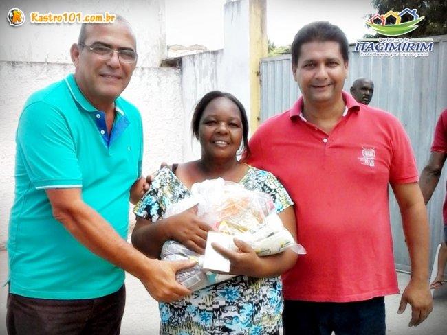 De acordo com o prefeito Rogério Andrade e a secretária Wanderléia Santos, o intuito foi novamente acolher esse público da mesma forma como têm feito ao longo da gestão. (Foto: Divulgação)