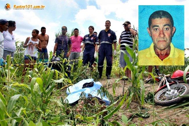 José Abade caiu fora do acostamento após perder controle da moto que pilotava. Ele morreu no local. (Foto: Rastro101)