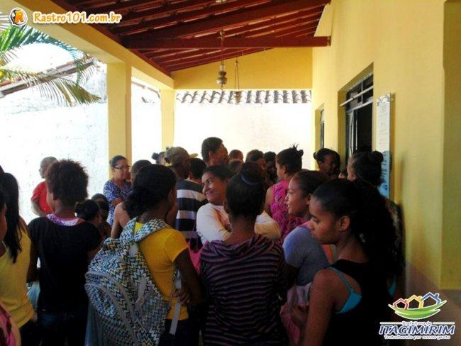 Mais de 200 famílias foram beneficiadas com a última entrega dos alimentos. (Foto: ASCOM)